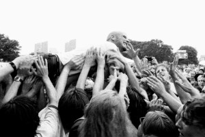 Moby at Lollapalooza 1995
